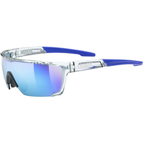 UVEX Sportstyle 707 Glasses, blauw/transparant